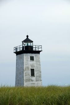 Long Point Lighthouse Royalty Free Stock Image