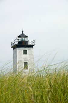 Long Point Lighthouse Stock Photography