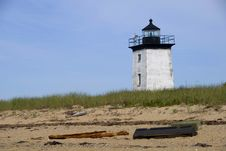 Long Point Lighthouse Royalty Free Stock Photos