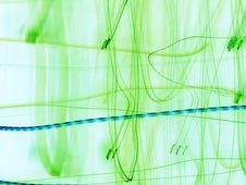 Free Green Abstraction Stock Image - 2103781