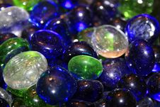 Free Colored Glass Marbles Stock Image - 2103921