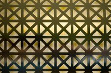 Free Abstract Symmetrical Grid Stock Photo - 2104810