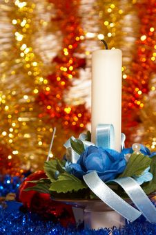 Free Christmas Candle Stock Photo - 2105980