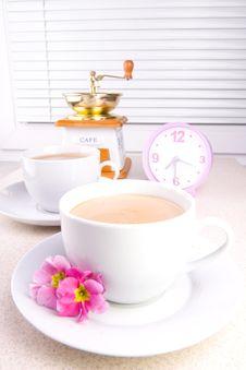 Free Morning Coffe Royalty Free Stock Image - 2106316