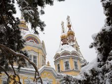 Ortodox Cathedral Royalty Free Stock Photo