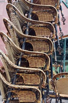 Free Bamboo Chair Royalty Free Stock Image - 2106696