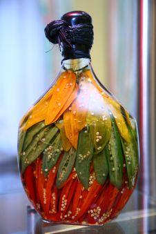 Decorative Bottle Stock Photography