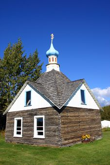Free Russian Orthodox Chapel In Alaska Royalty Free Stock Photo - 2107865