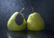 Free Pears In Rain Royalty Free Stock Photo - 2108435