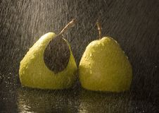 Free Pears In Rain Stock Images - 2108444