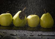 Free Pears In Rain Royalty Free Stock Photography - 2108457