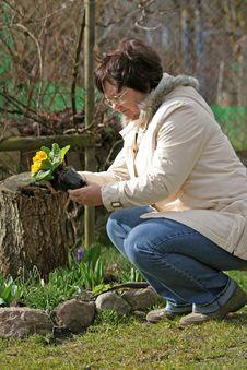 Free Gardener Stock Image - 2108691