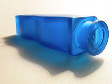 Free Blue Bottle Stock Photography - 2108892