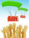 Free Sale Season Stock Photo - 21003370