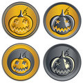 Free Vector Set Of Coins On Halloween Royalty Free Stock Photos - 21005908