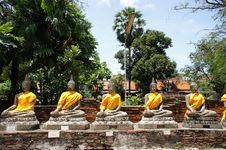 Free Bhudda Bless Royalty Free Stock Image - 21000056