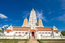 Free Temple In The Blue Sky Stock Photo - 21000100