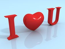 Free I Love You Royalty Free Stock Images - 21000399