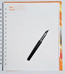 Free Note Book Royalty Free Stock Image - 21000436