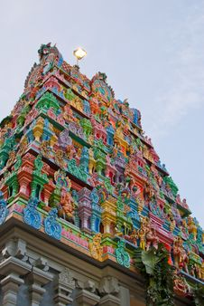 Free Generic Hindu Temple Royalty Free Stock Photography - 21000817
