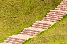 Free Brick Sidewalk Royalty Free Stock Image - 21000926