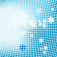 Abstract Vector Background From A Mosaic Stock Image