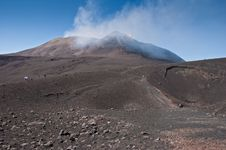 Free Mount Etna On A Summer Day Stock Photography - 21001532