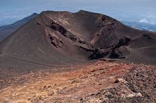 Free Old Inactive Craters Of Etna, Sicily Stock Photos - 21001553