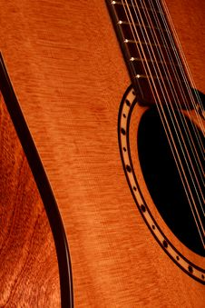 Free Guitar Royalty Free Stock Photos - 21002158