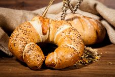 Free Composition Of Fresh Bread Royalty Free Stock Photo - 21002235