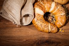 Free Composition Of Fresh Bread Stock Photos - 21002353