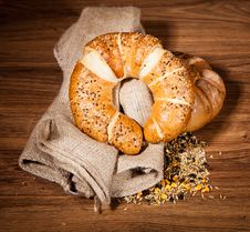 Free Composition Of Fresh Bread Royalty Free Stock Photography - 21002377