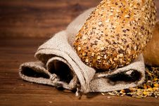 Free Composition Of Fresh Bread Stock Images - 21002444