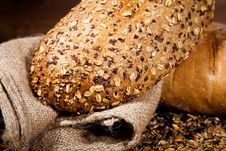 Free Composition Of Fresh Bread Royalty Free Stock Photography - 21002457