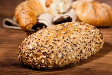 Free Composition Of Fresh Bread Stock Photo - 21002560