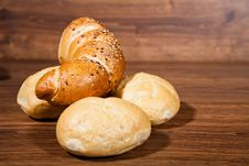 Free Composition Of Fresh Bread Royalty Free Stock Photos - 21002698