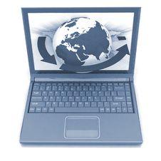 Free Laptop Royalty Free Stock Images - 21003119