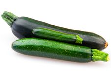 Free Fresh Zucchini Isolated Royalty Free Stock Photography - 21003207