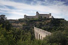Free Albornoz Fortress. Spoleto. Umbria. Royalty Free Stock Image - 21003246