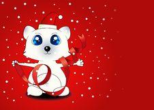 Free Christmas Background Royalty Free Stock Photo - 21003305