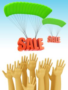Free Sale Season Stock Photo - 21003370