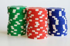 Free Poker Chips Stock Images - 21004614