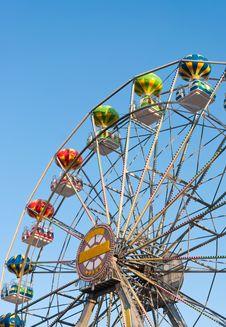 Free Ferris Wheel Background Sky. Stock Photography - 21004672