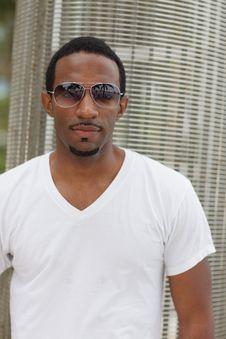 Free Man With Modern Sunglasses Stock Photos - 21005573