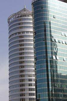 Free Modern Buildings In Tel Aviv Metropolitan Area Stock Images - 21006194