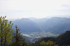 Free Mountain Panorama Royalty Free Stock Photos - 21006358