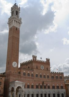 Torre Del Mangia Royalty Free Stock Images
