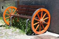 Free Bench With Wheels Royalty Free Stock Photo - 21006465