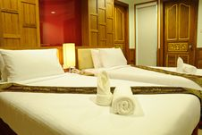 Hotel Room In Thailand Royalty Free Stock Images