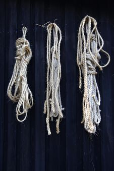 Free Rope Twisted Natural Fibre Stock Photo - 21007520